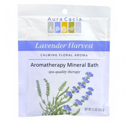 Lavender Harvest Aromatherapy Mineral Bath Salts 2.5oz.