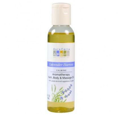 Lavender Harvest Aromatherapy Body & Massage Oil 4oz.