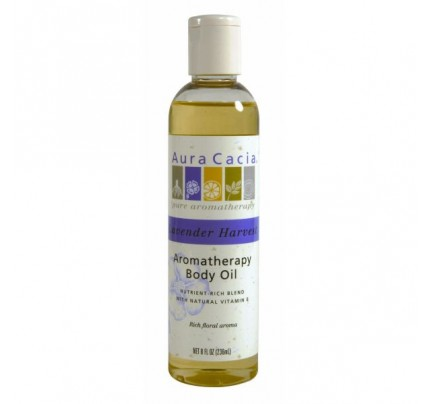 Lavender Harvest Aromatherapy Body & Massage Oil 8oz.