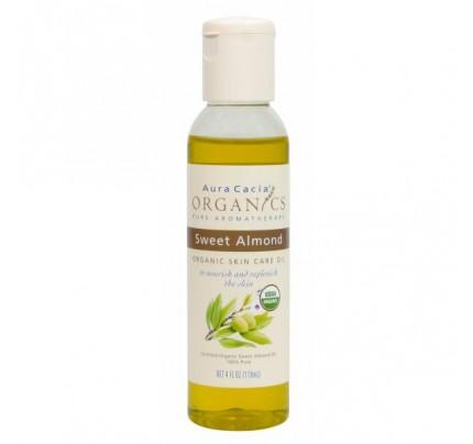 Organics Skin Care Oil Sweet Almond 4oz.