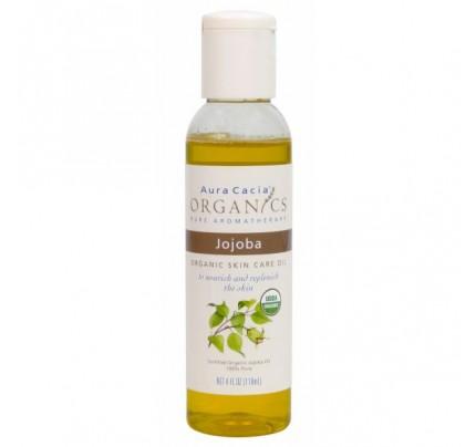 Organics Skin Care Oil Jojoba 4oz.