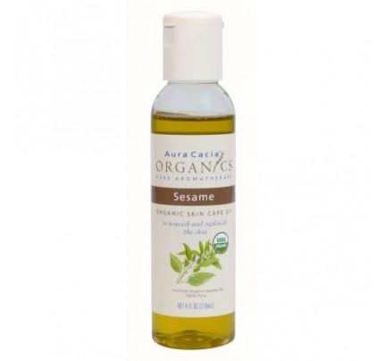Organics Skin Care Oil Sesame 4oz.