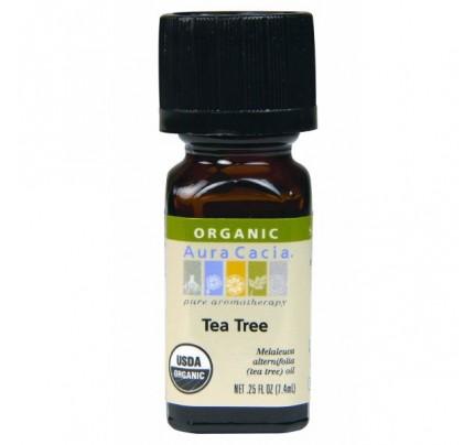 Organic Tea Tree Essential Oil 0.25oz.