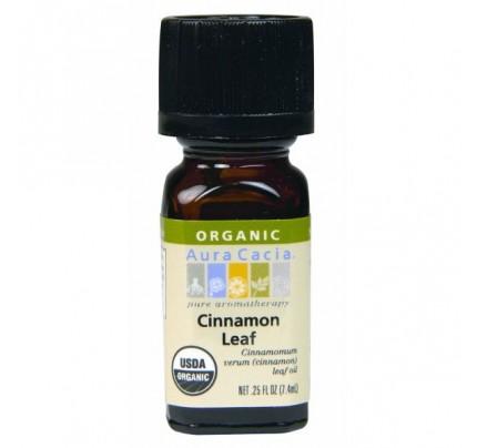 Organic Cinnamon Leaf 0.25 fl. oz.