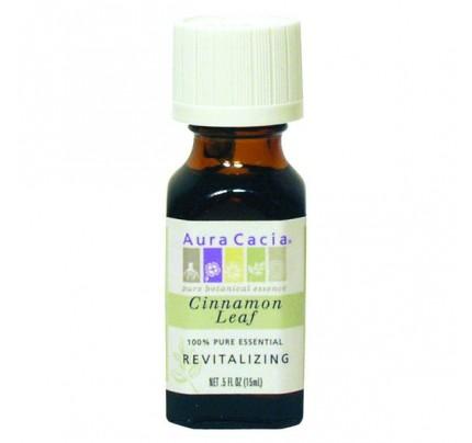 Essential Oil Cinnamon Leaf (Cinnamomum zeylanicum or verum) 0.5 fl. oz.