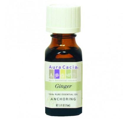 Essential Oil Ginger (Zingiber officinale) 0.5oz.