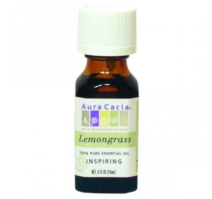 Essential Oil Lemongrass (Cymbopagon citratus) 0.5oz.