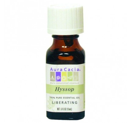 Essential Oil Hyssop (Hyssopus officinalis) 0.5oz.