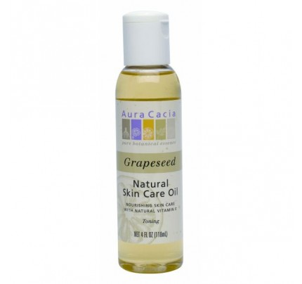 Natural Skin Care Oil Grapeseed 4oz.