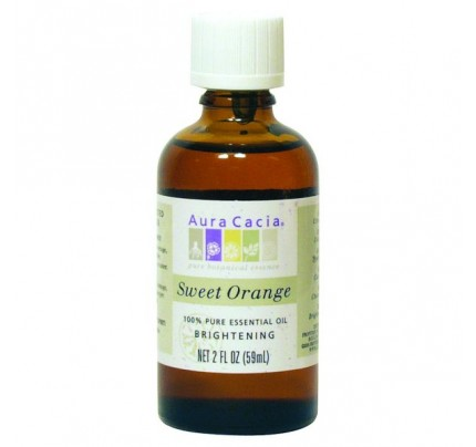 Essential Oil Orange Sweet (Citrus sinensis) 2oz.