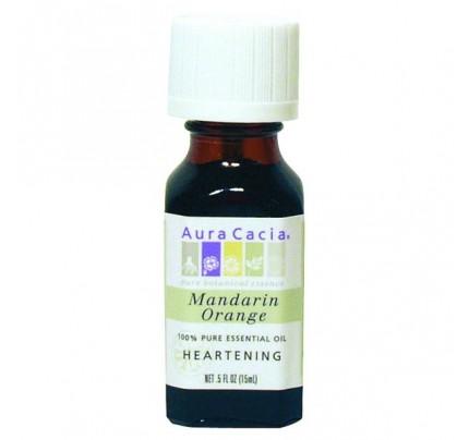 Essential Oil Orange, Mandarin (Citrus reticulata) 0.5oz.