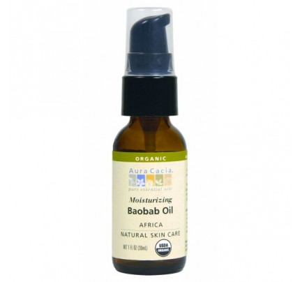 Baobab Seed Skin Care Oil Certified Organic 1oz.