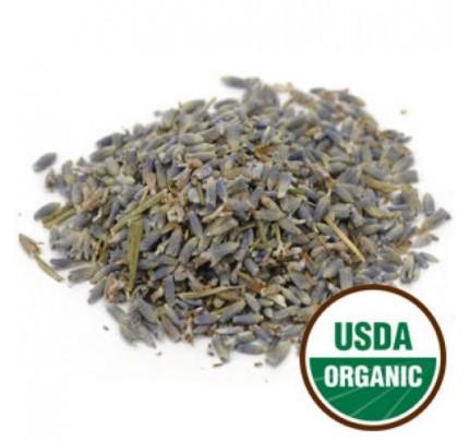 Organic Lavender Flowers Extra Whole Bulk 1lb.
