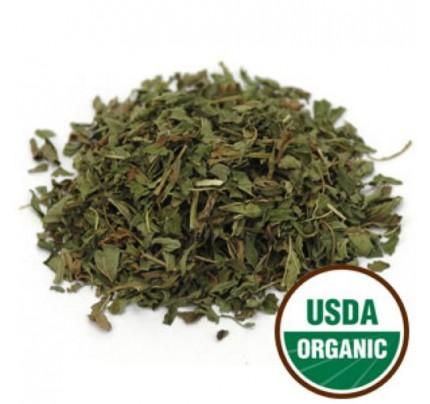 Organic Peppermint Leaf C/S Bulk 1lb.