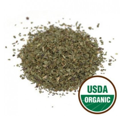 Organic Basil C/S Bulk 1lb.
