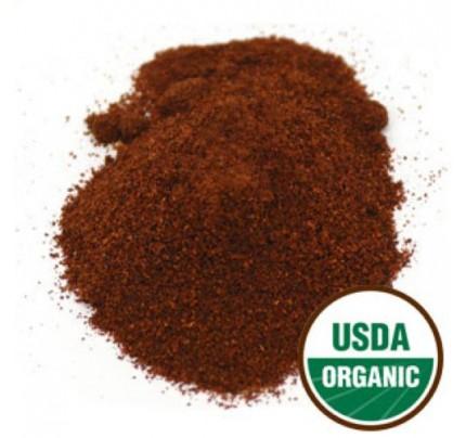 Organic Chili Powder Dark Roast Bulk 1lb.