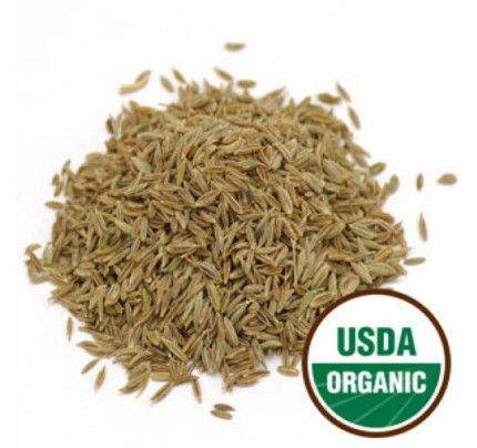 Organic Cumin Seed Bulk 1lb.