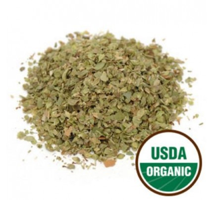 Organic Oregano Leaf C/S Bulk 1lb.