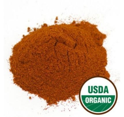 Organic Paprika Powder Bulk 1lb.