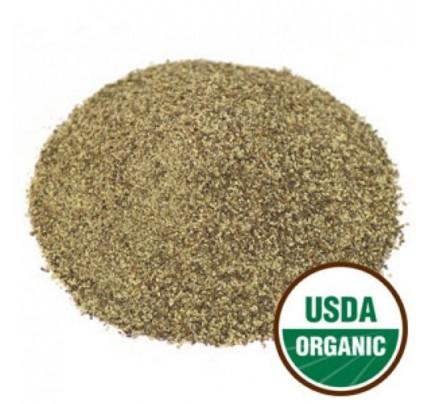 Organic Pepper Black Ground Pepper Medium Grind 32 Mesh Bulk 1lb.