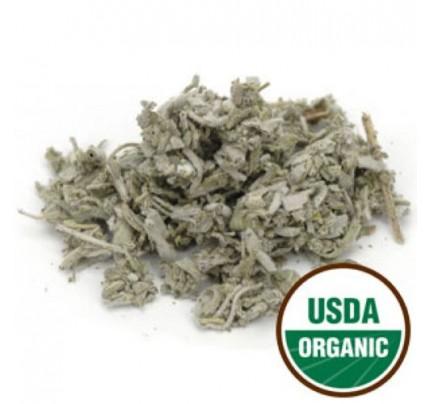 Organic Sage Dalmation Leaf C/S Bulk 1lb.