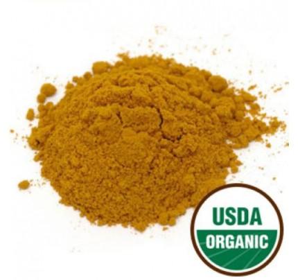 Organic Turmeric Root Powder Bulk 1lb.