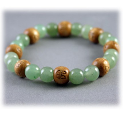 Lucky Karma Beads Karmalogy Aventurine - Wealth & Good Luck Bracelet