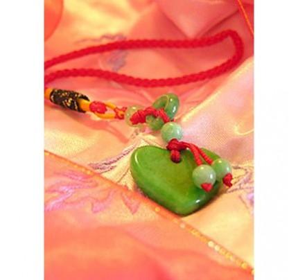 Feng Shui Love Jade Luck Charm