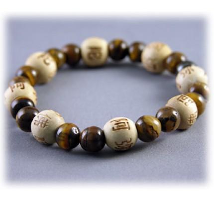 Lucky Karma Beads Kid's Karmalogy Tiger's Eye - Good Luck Bracelet