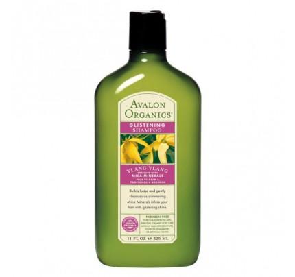 Shampoo Organic Ylang Ylang 11oz.