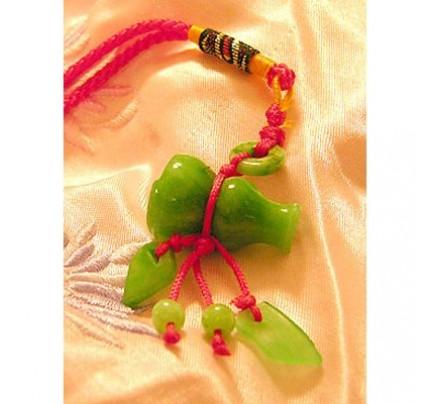 Feng Shui Good Health Jade Luck Charm