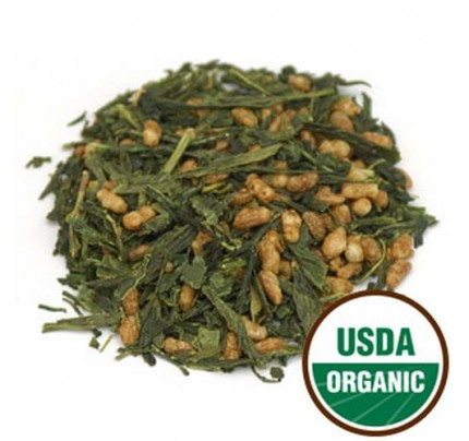 Organic Genmaicha Tea (China) Bulk 1lb.