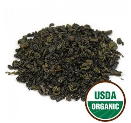 Organic Gunpowder Green Tea Bulk 1lb.