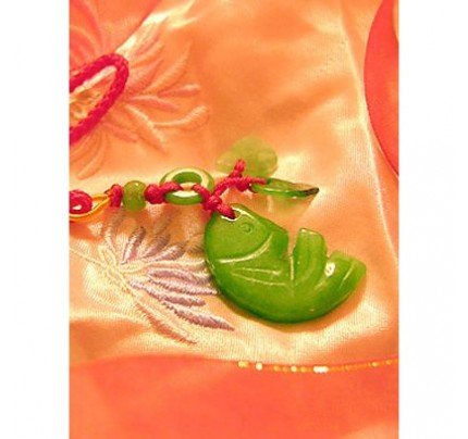 Feng Shui Prosperity Jade Luck Charm