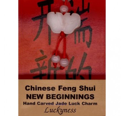 Feng Shui New Beginnings Crystal Luck Charm