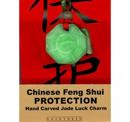 Feng Shui Protection Jade Luck Charm