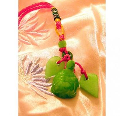 Feng Shui Empowering Long Life Jade Luck Charm