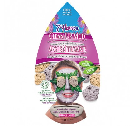 Clean Up Mud Volcanic Mud Exfoliating Mask