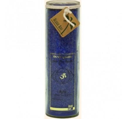 Candle Chakra Jar Unscented Abundance (Ajna) Indigo 16oz.