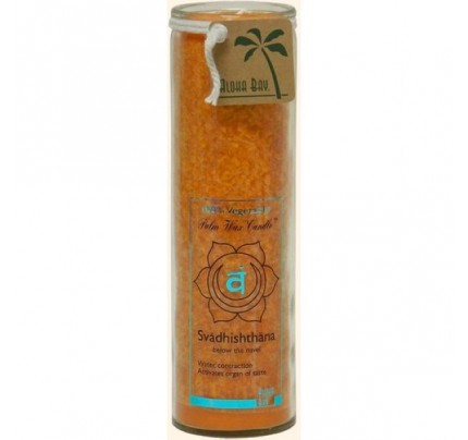 Candle Chakra Jar Unscented Love (Svadhishthana) Orange 16oz.