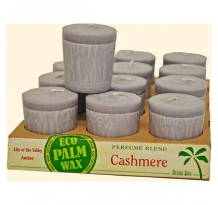 Candle Votives Cashmere Cornsilk 12-pack