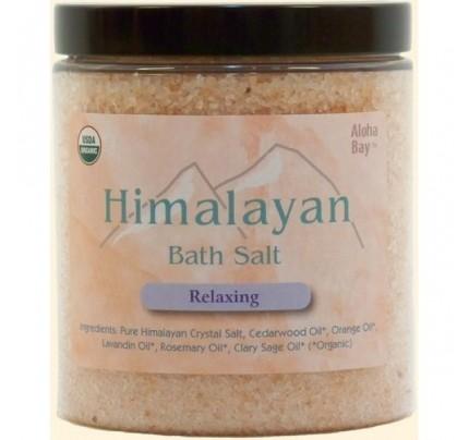 Himalayan Bath Salt Organic Relaxing 24oz.