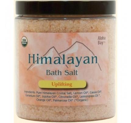 Himalayan Bath Salt Organic Uplifting 24oz.