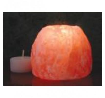 """Himalayan Salt Crystal Tealight Holder Small 2.25"""""""