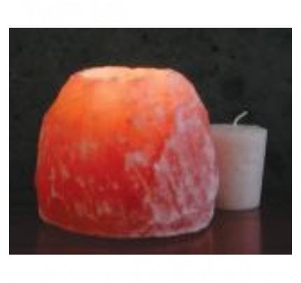 "Himalayan Salt Crystal Votive Tea Light Holder 3.5"""