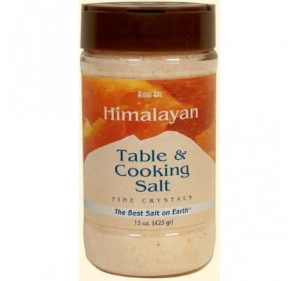 Himalayan Crystal Salt Fine 15oz.