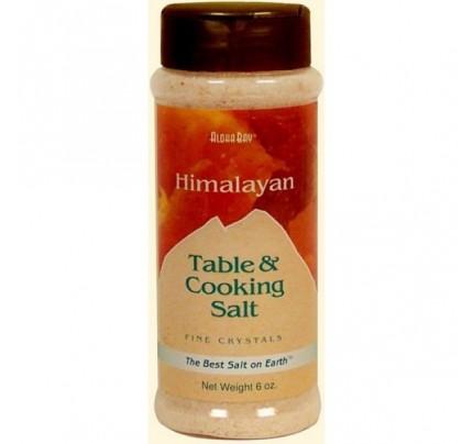 Himalayan Crystal Salt Fine 6oz.