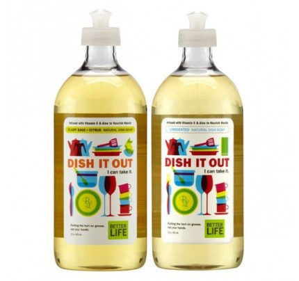 Dish It Out Natural Liquid Dish Soap Unscented 22 oz.