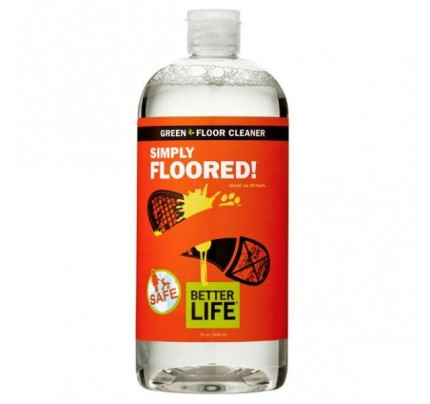 Simply Floored! Natural Ready-to-Use Floor Cleaner Citrus & Mint 32 oz.