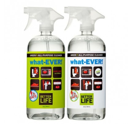 What-Ever Natural All Purpose Cleaner Unscented 32 oz.